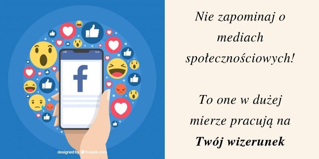 obecnośc w mediach społecznościowych to już standard