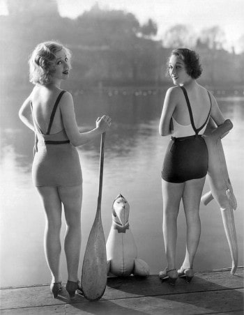 Adrienne Dore and Mae Madison 1935