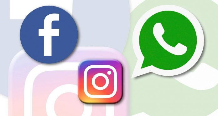 Awaria facebook, messenger, whatsup